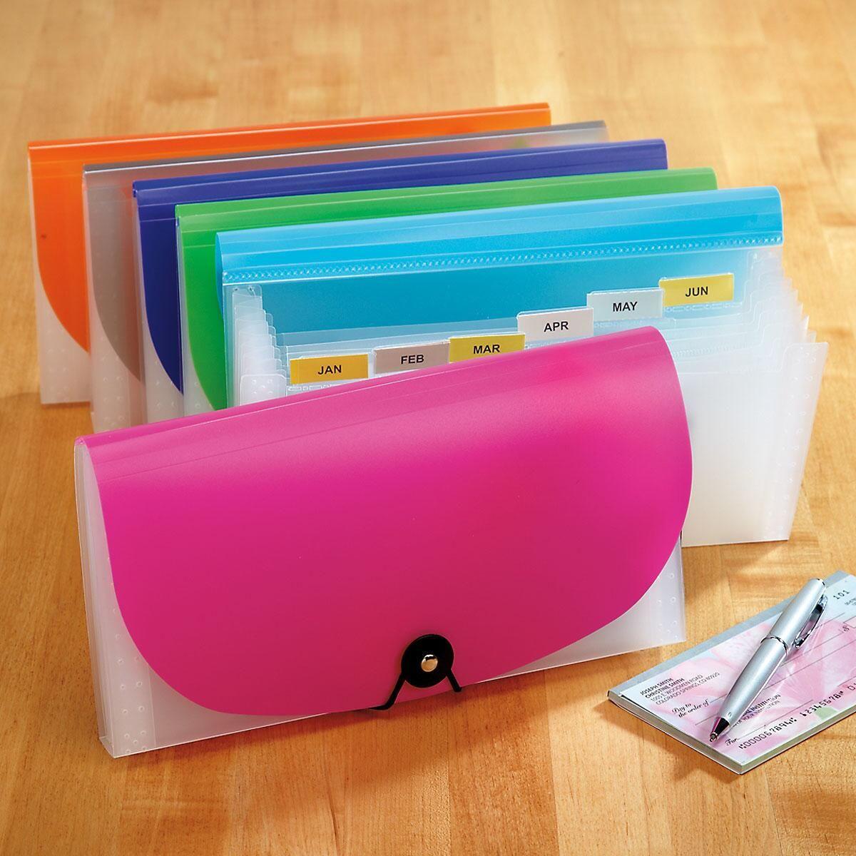 7 Pocket Check File
