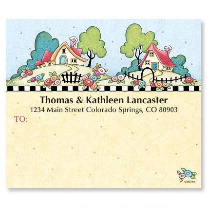 Home Sweet Home Mailing Package Labels