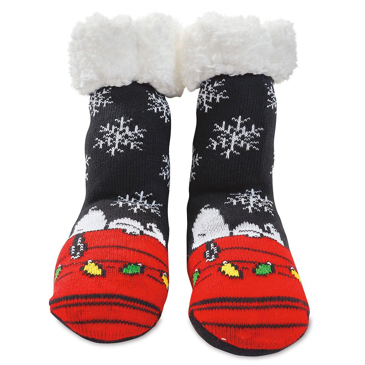 Snoopy & Snowflakes Warmer Socks