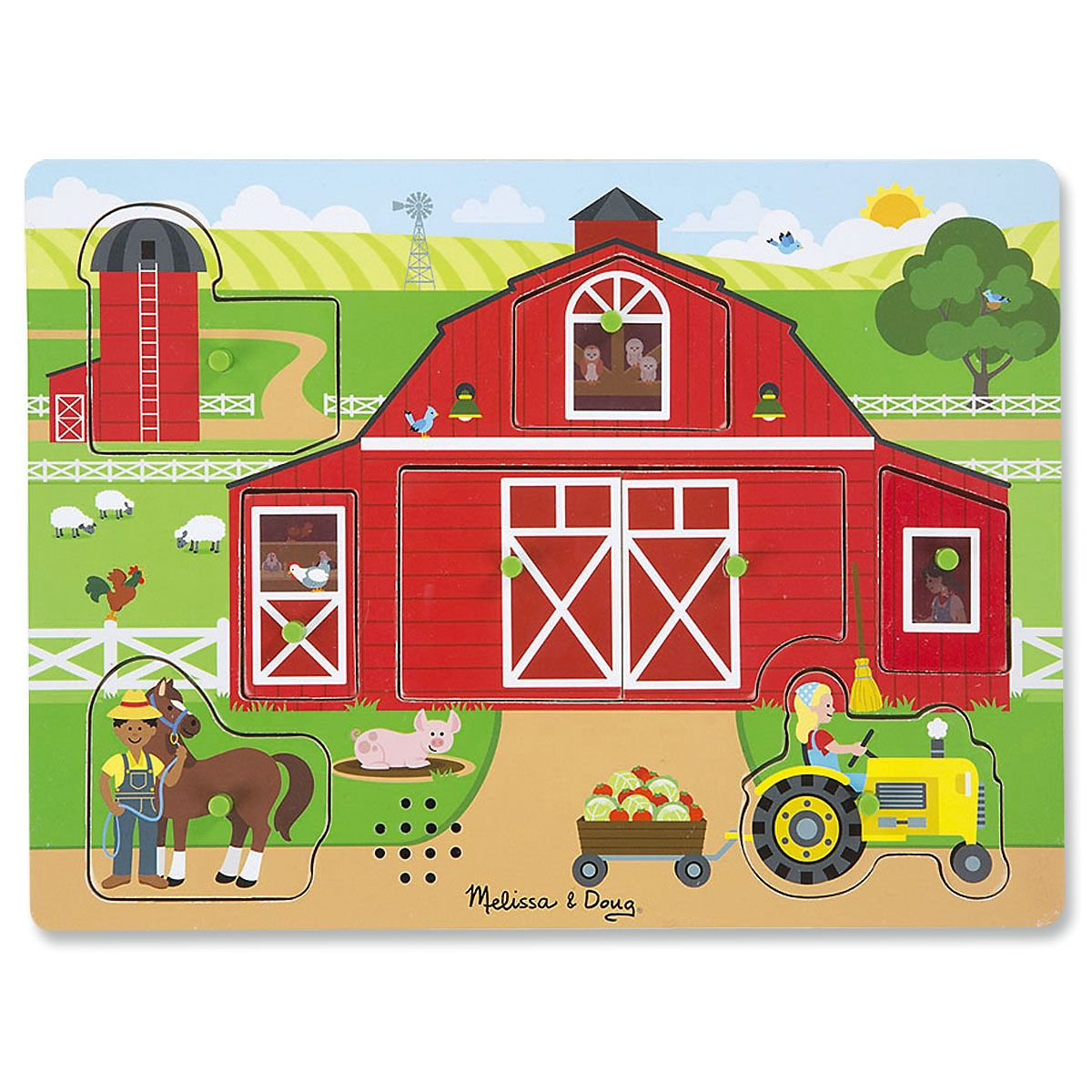 Sounds Around the Farm Puzzle by Melissa & Doug®