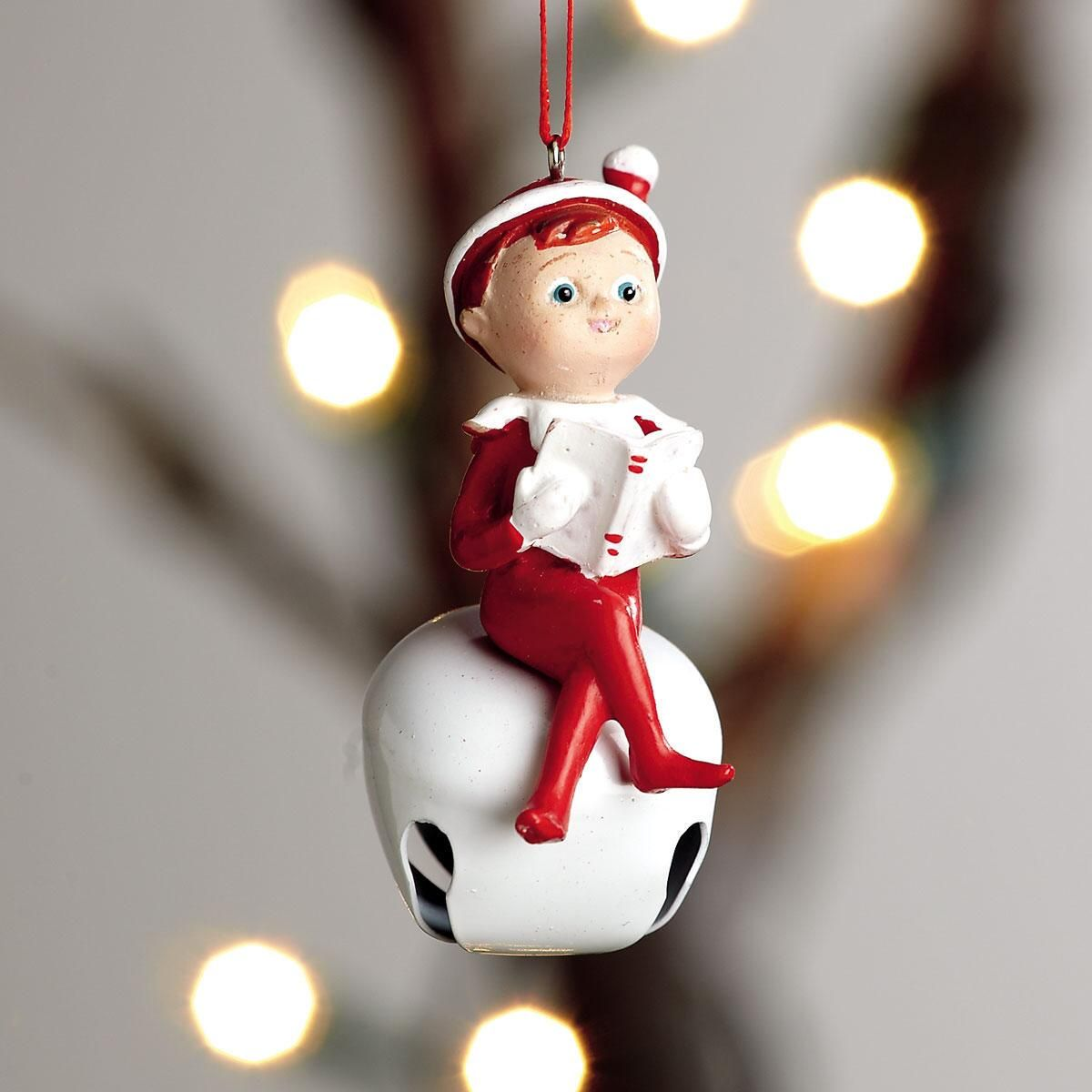 Elf on the Shelf Jingle Bell Ornament