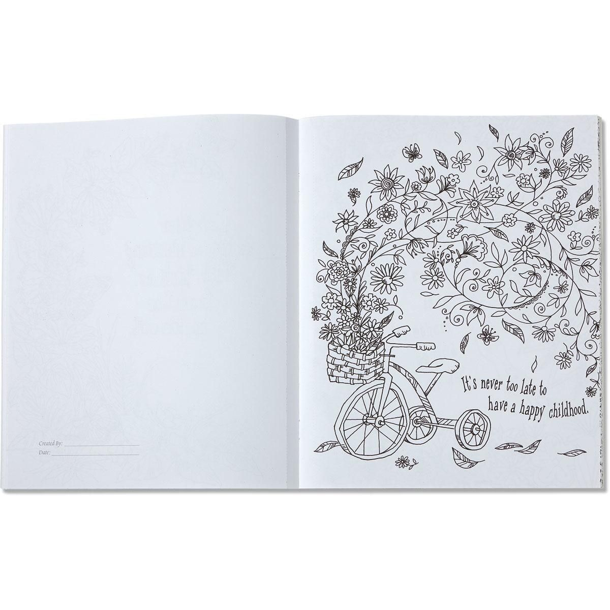 Believe Hope Dream Coloring Art Book