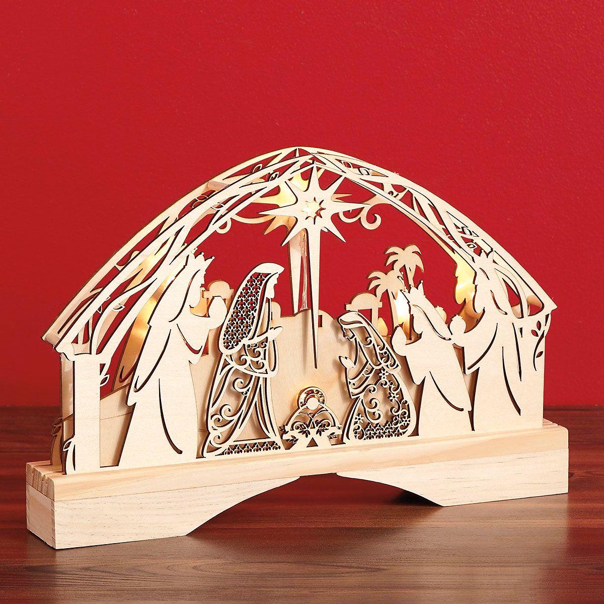 Nativity Centerpiece Decoration
