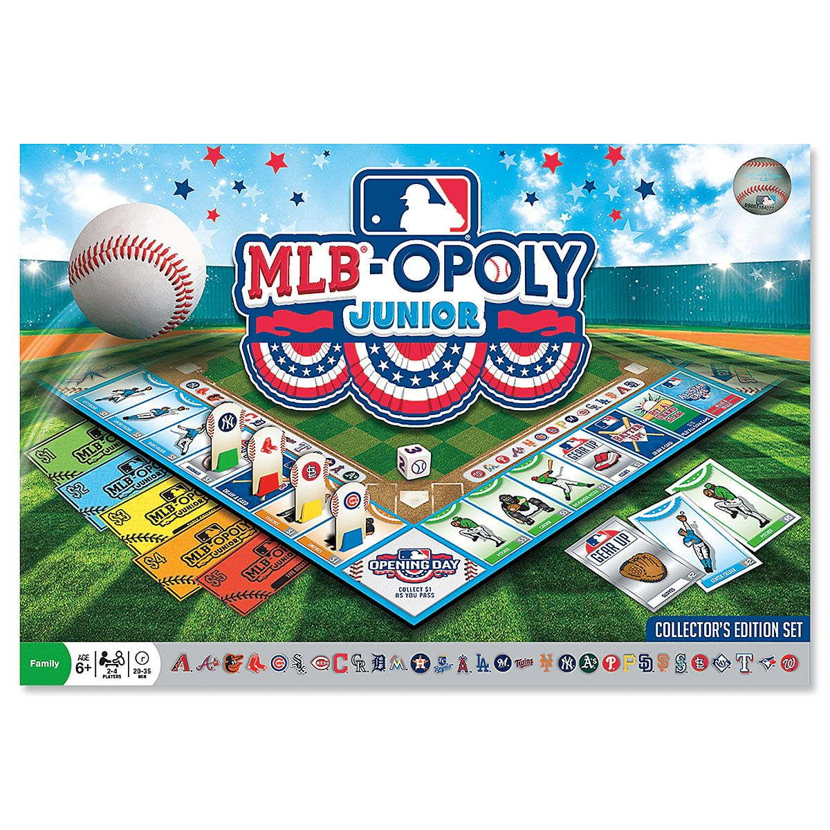 MLB-Opoly® Jr. Collector's Editions Game