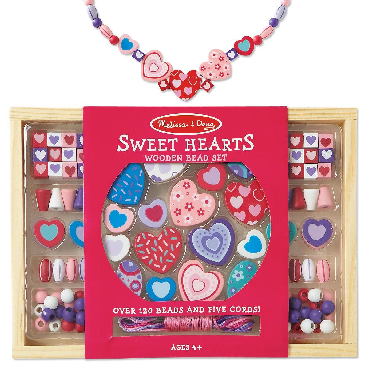 Sweet Hearts Bead Set by Melissa & Doug®
