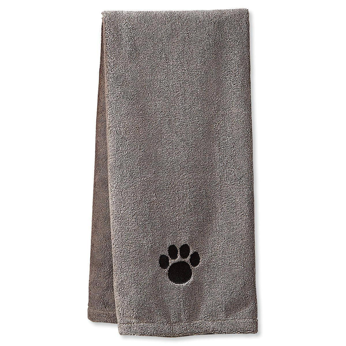 Gray Pet Drying Towel