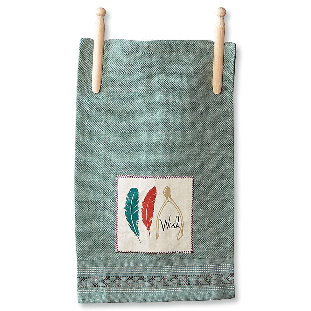 Green Wish Autumn Kitchen Towel