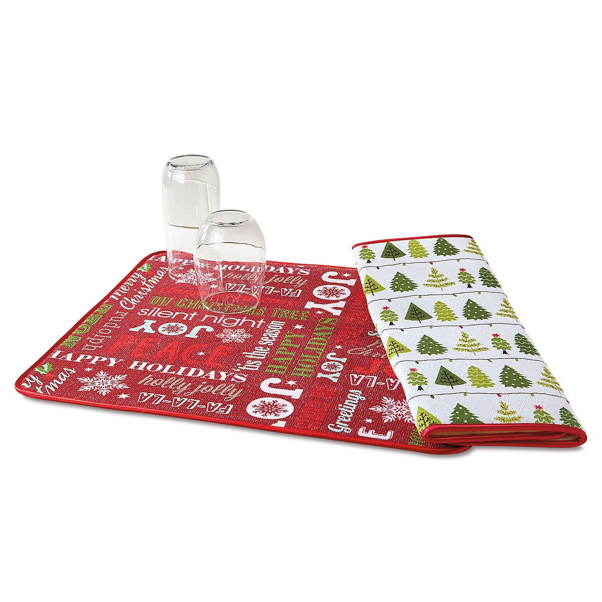 Holiday Microfiber Drying Mat