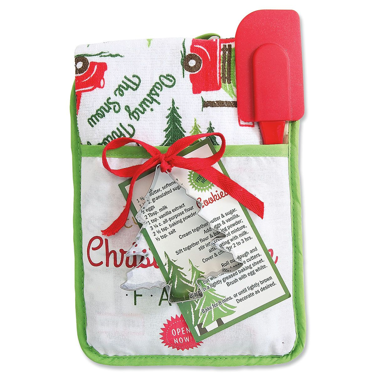 Christmas Pocket Mitt Gift Set