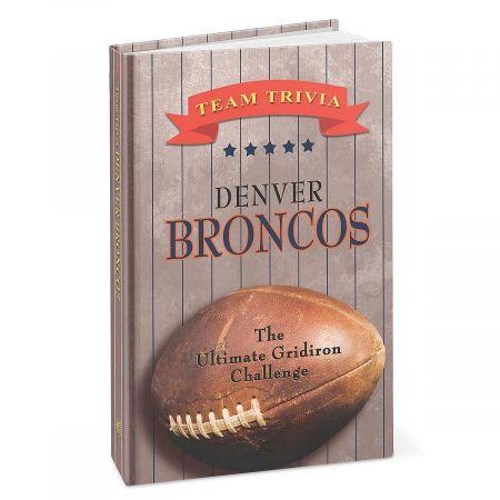 Denver Broncos NFL Team Trivia Book