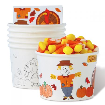 Kids' Activity 9 Ounce Treat Cups and Sticker Sheets