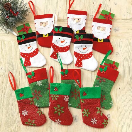 Christmas Stocking Gift Card Holders