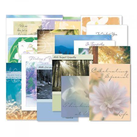 Mega Sympathy Greeting Cards Value Packs