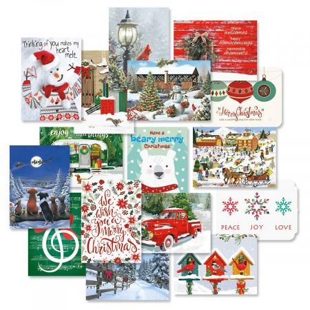 Christmas Card Value Packs