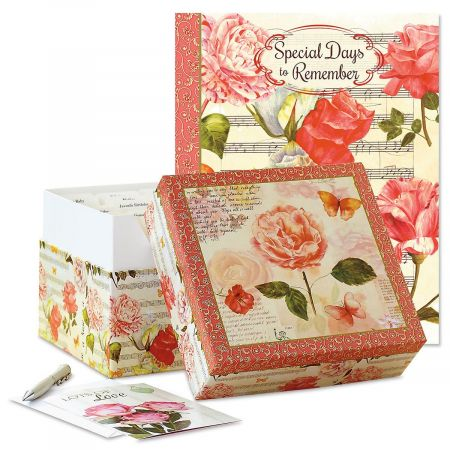 Roses Greeting Card Organizers