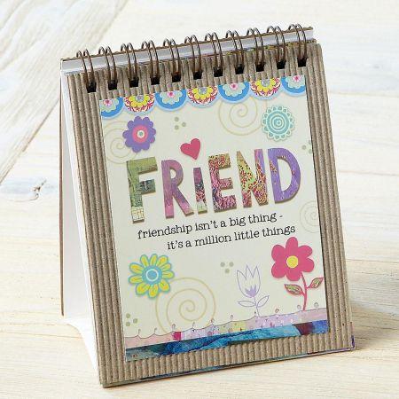 Friend Easel Book