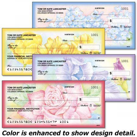 Floral Fancy Single Checks