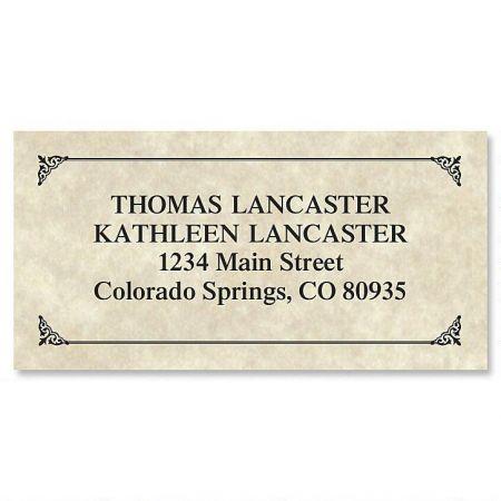 Antique Border Address Labels
