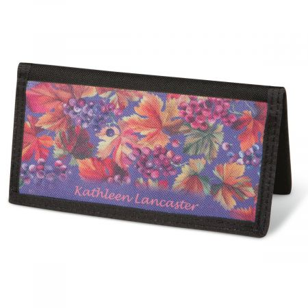 Vineyard  Checkbook Cover - Personalized