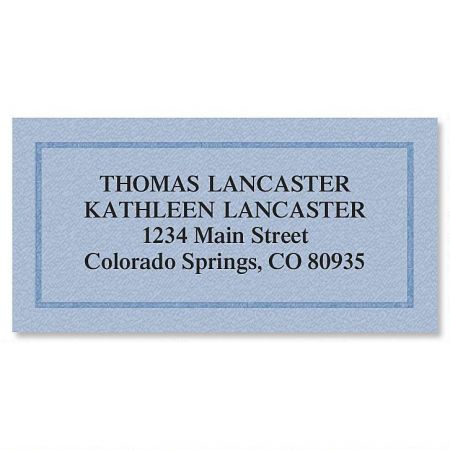 Classic Safety Border Address Labels