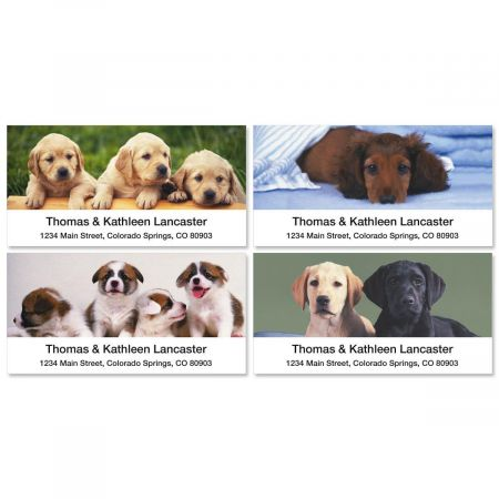 puppy love deluxe address labels current catalog