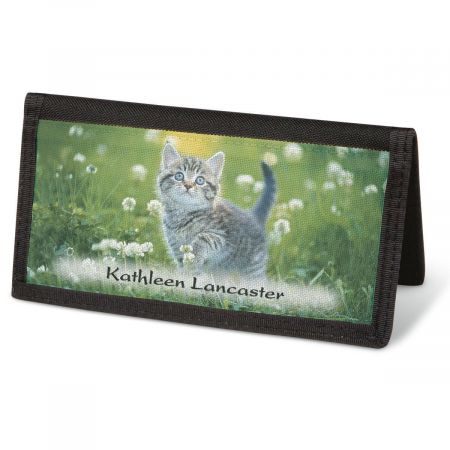 Cuddly Kittens  Checkbook Cover - Personalized