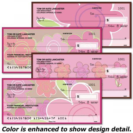 Shades of Pink Single Checks