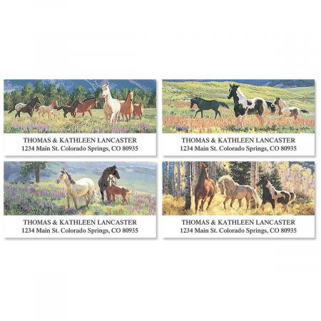 Beauty in the Wild Address Labels  (4 designs)