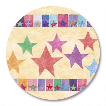 Stars Envelope Sticker Seals