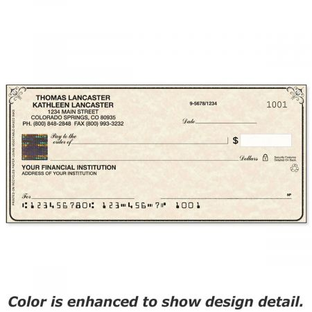 Securiguard Parchment Premium Duplicate Checks
