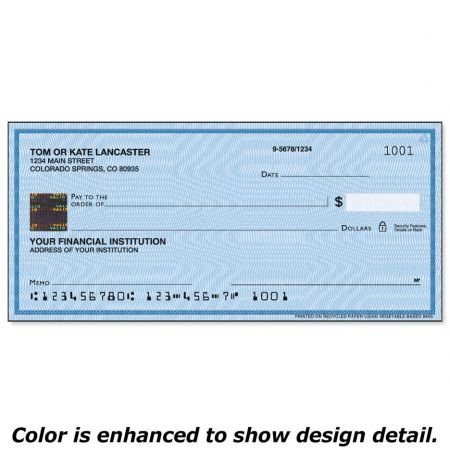Securiguard Security Blue Hologram Premium Checks