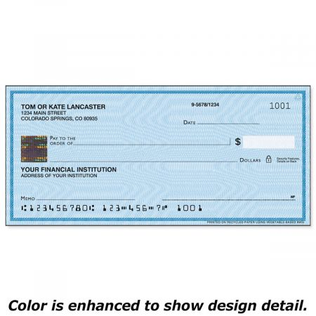 Securiguard Security Blue Hologram Premium Single Checks