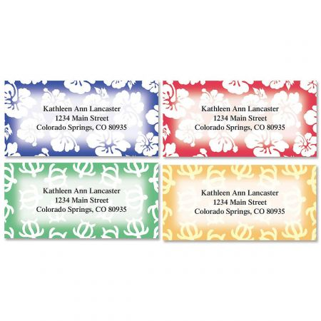 Aloha Address Labels  (4 designs)