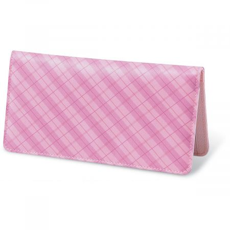Perfectly Plaid Fabric Checkbook Covers