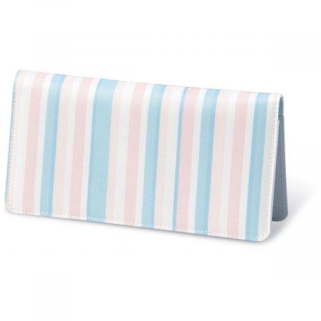 Coastal Stripes  Fabric Checkbook Covers