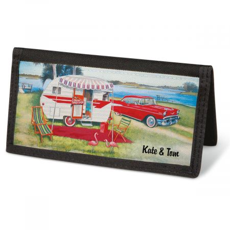 Vintage Trailer Checkbook Covers - Personalized