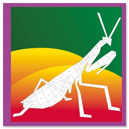 Beautiful Bugs Paint By Sticker Book