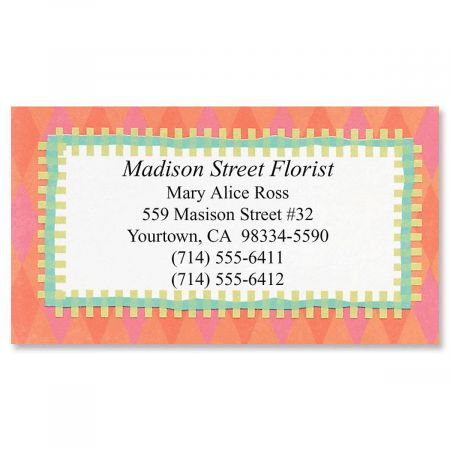 Bright Fun Designer Calling Cards