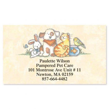 Pets Designer Calling Cards