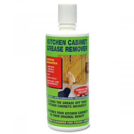 Kitchen Cabinet Grease Remover