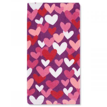 Valentine Kitchen Towel - Hearts All Over