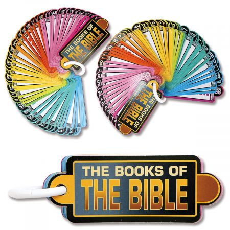 Books of the Bible Information Cards