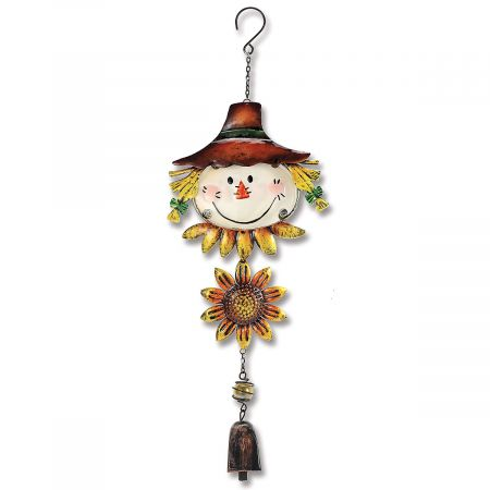 Scarecrow Hanging Windchime