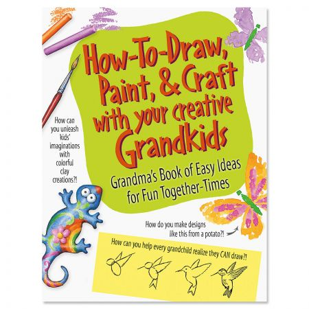 How to Draw with Grandkids Book