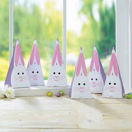 Bunny Triangle Boxes