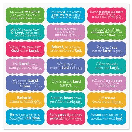 Scripture Stickers