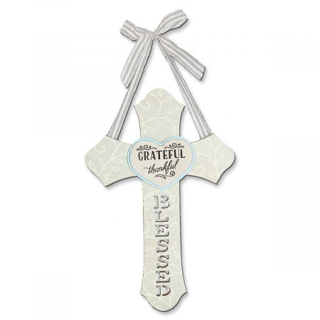 Grateful Wooden Cross