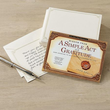 A Simple Act of Gratitude Stationery Set