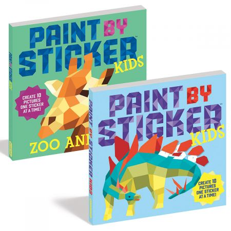 Paint by Stickers Books