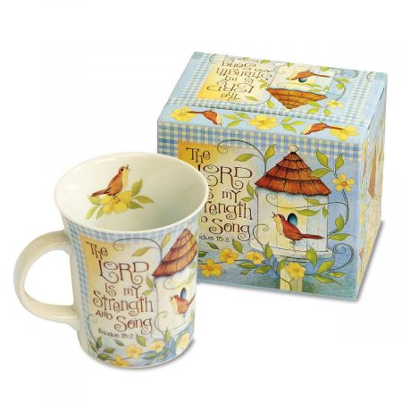The Lord is My Strength Faith Mug and Matching Gift Box